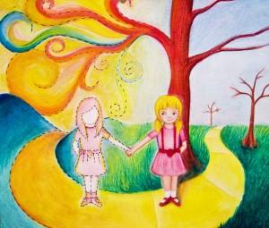 Los amigos imaginarios suelen servir como catalizadores de las emociones de los niños.