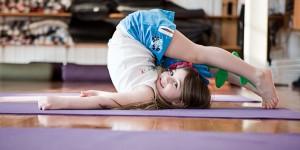 yoga para niños y bebes