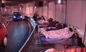 Imágenes de un túnel en Madrid. Imagen vía @PilG5R